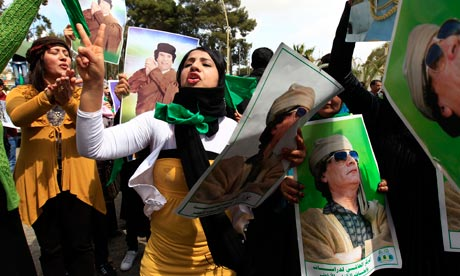 Is Libya's Gaddafi Looking For A Way Out?