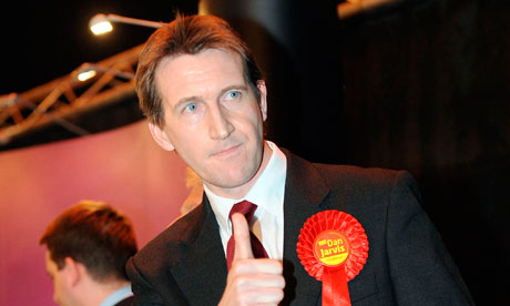 Barnsley Central byelection winner Dan Jarvis