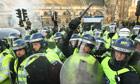 met police criminalising generation students