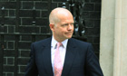 William Hague takes responsibility for botched Libya mission