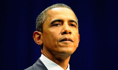 US president Barack Obama warns Gaddafi regime America and Nato are considering their military options.