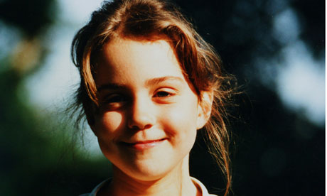 kate middleton childhood. Five-year-old Kate Middleton