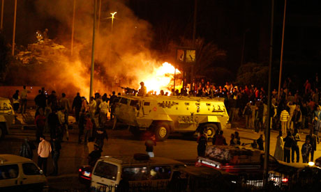 Muslim-Christian clashes in Cairo