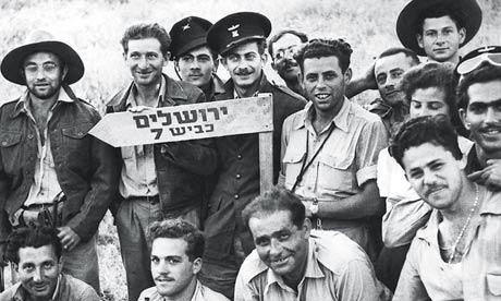 Israeli soldiers in 1948