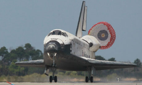 Space Shuttle Landing Space Shuttle Discovery
