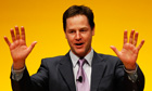 Nick Clegg's health policies have come under fire