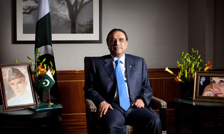 Pakistan's president Asif Ali Zardari: 'There are no short-term answers and it is very difficult to make the American taxpayer understand.'