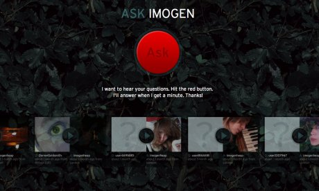 Soundcloud's Takes Questions tool, as used by Imogen Heap