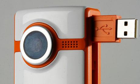 The Flip Ultra video camera