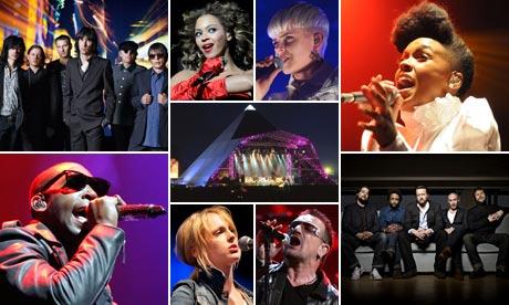 Glastonbury 2011 line up