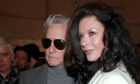 Michael Douglas Supports Catherine Zeta-Jones in Return to Treatment