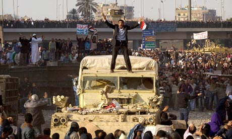 Tahrir Square, Cairo, on 2 February 2011