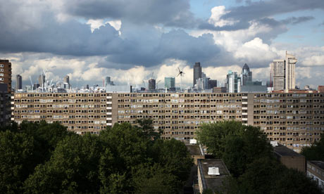 Demolition of London housing estate to begin | Society | The Guardian