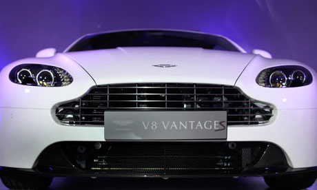 Aston Martin on Aston Martin Steps Into Crowded Indian Luxury Car Market   Business