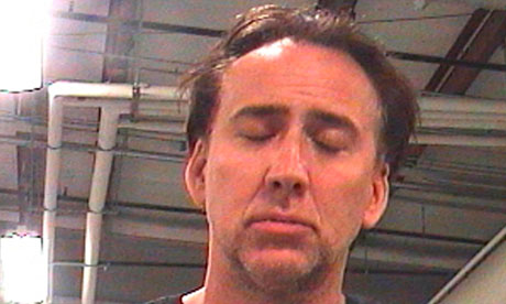 Nicolas Cage arrested on suspicion of domestic abuse and public drunkenness