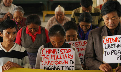 Exiled Tibetans in Nepal stage hunger strike over Kirti monastery blockade