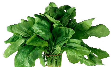 spinach. macular disease