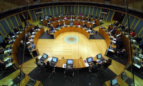 Welsh assembly, Cardiff