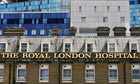 the Royal London Hospital in Whitechapel, east London