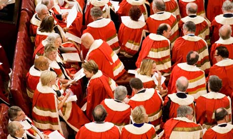 The House of Lords is too full, a report has warned David Cameron