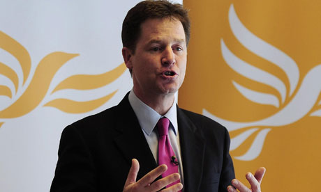 Nick Clegg says voters will not make a decision on AV based on what they think of one politician