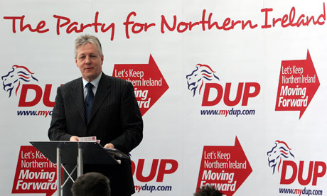Peter Robinson, DUP, Northern Ireland