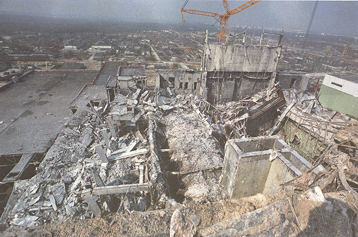 Chernobyl pictures aftermath
