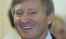 Ukrainian businessman Rinat Akhmetov