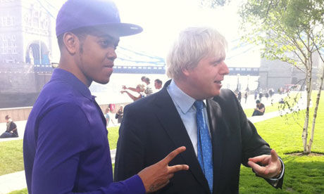 Chipmunk and Boris Johnson