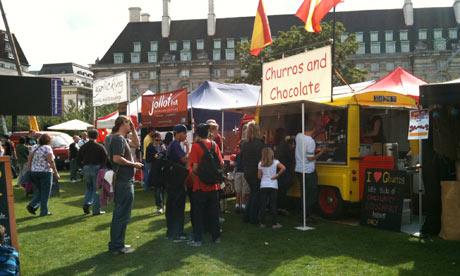 Street food festival, London