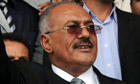 Ali Abdullah Saleh, the Yemeni president