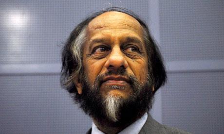 Rajendra Pachauri, chairman of the Intergovernmental Panel on Climate Change (IPCC