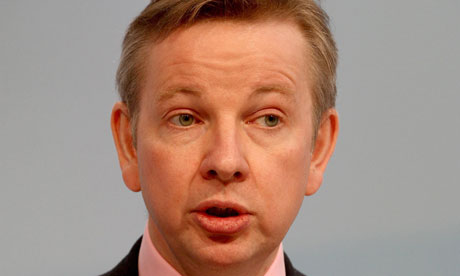 Michael Gove, the education secretary