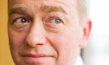 Tim Farron accused David Cameron of defending an 'indefensible' electoral system