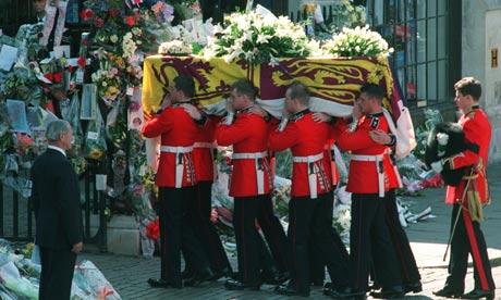 princess diana funeral. princess diana funeral