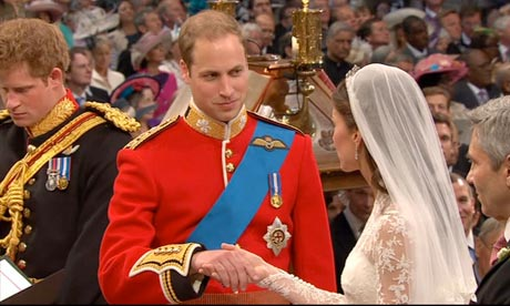 Royal Wedding: Prince William and Kate vows