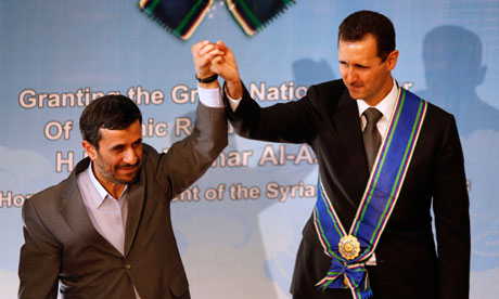 Mahmoud Ahmadinejad Bashar Assad