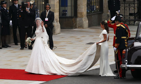 Royal Wedding Blog - Kate arrives at Westminster Abbey