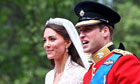 Royal Wedding: Prince William and Kate Middleton leave Westminster Abbey by carriage