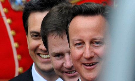 ed miliband at royal wedding. Royal wedding unity: Ed
