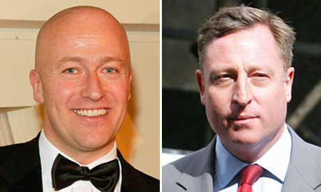Ian Edmondson, left, and Neville Thurlbeck