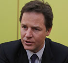 Nick Clegg has announced the launch of a commission on child poverty and social mobility