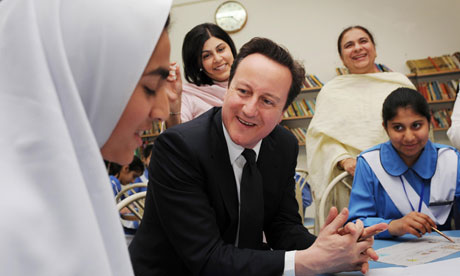 David Cameron in Islamabad College for Girls 5/4/11