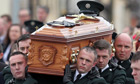 The Funeral Takes Place Of Police Constable Ronan Kerr in Berlagh, Northern Ireland