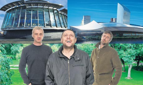 Salford's finest: Happy Mondays, Lowry srt gallery, Imperial War Museum North and Peel Park.