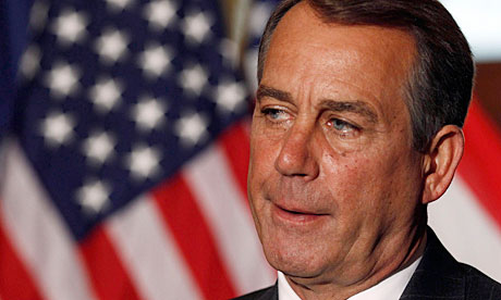 Republican House Speaker John Boehner