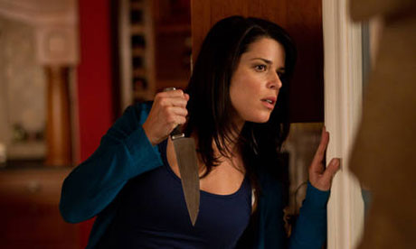 First SCREAM 4 Poster Or is it SCRE4M? Plus New Info from Wes ...