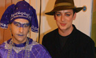 Philip Sallon and Boy George