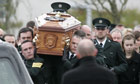 Funeral of PSNI Constable Ronan Kerr, Beragh, County Tyrone, Northern Ireland, Britain - 06 Apr 2011