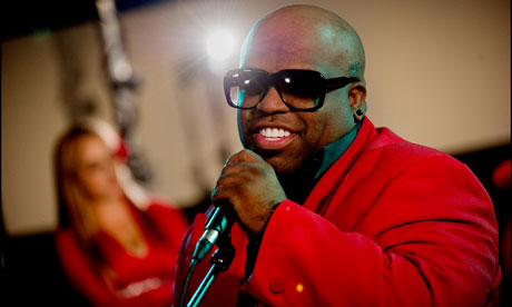 Cee-Lo Green, of Gnarls Barkley, one of Warner's artists